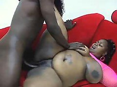 Black BBW with hot body goes naughty