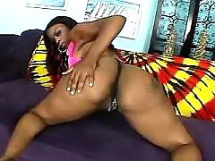 Black fatty with hot body goes naughty